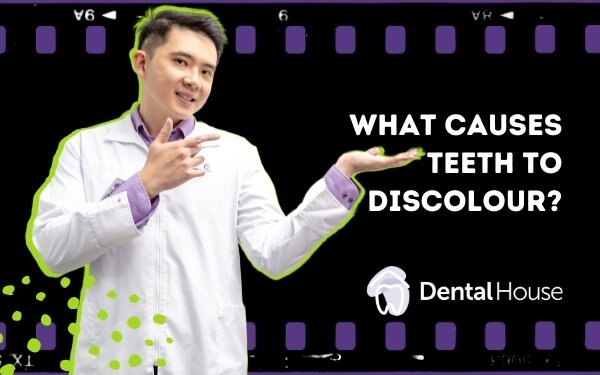 What Causes Tooth Discolouration?